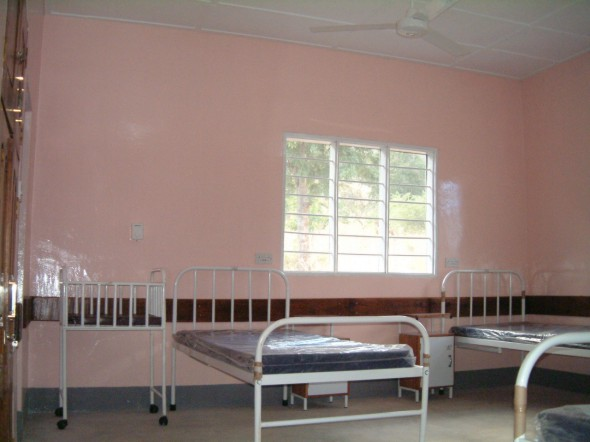 The Completed 4-Bed Maternity Ward