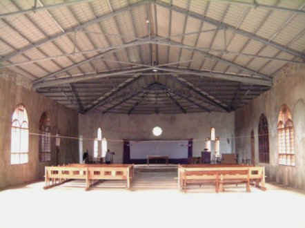 Internal view of All Saints Cathedral, Ving'hawe