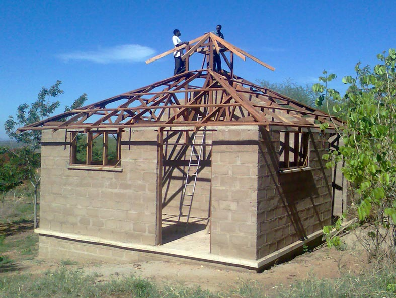 Erection of Cupola frame