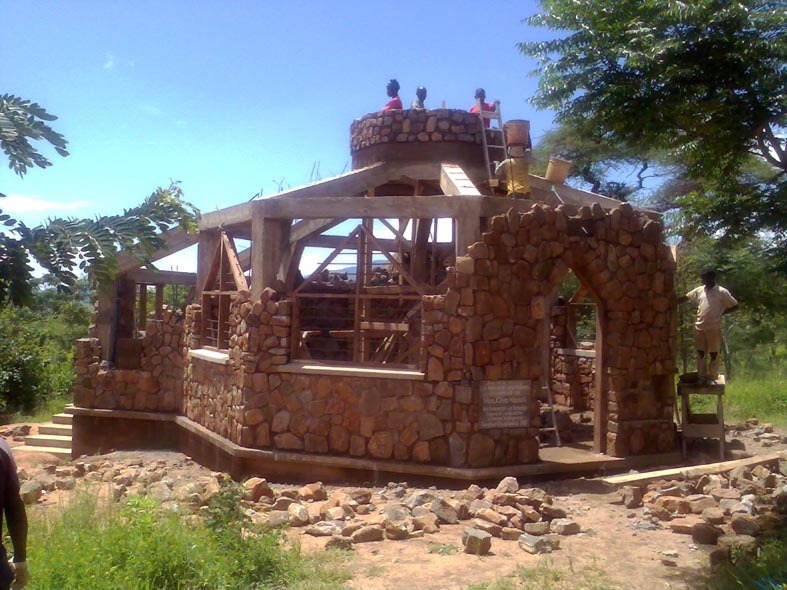 Construction of Cupola Walls & Installation of Windows