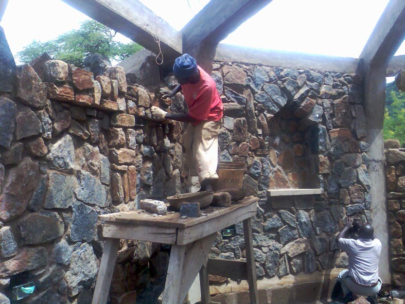 Formation of Stone Cross & Electrical 1st Fix