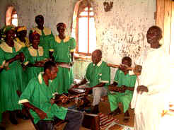 Traditional Wagogo Upendo Choir from Lupeta